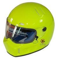 Motorcycle helmet glazed steel pig helmet starwars atv-1 biscay green