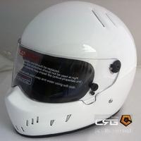 Starwars carting motorcycle glazed steel pig helmet atv-2 white
