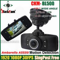 New CKM- BL500  1080p car dvr black box with HD 1920*1080P 30 fps 2.7 inch TFT screen and G-sensor+HDMI DVR Free Shipping