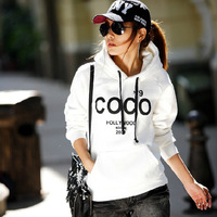 HOT Selling 2014 new fashion Women's COCO Printed Hoodies Leasure tracksuit Sweatshirt Tracksuit hoodies Outerwear free shipping