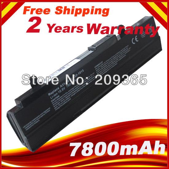 9 клетки аккумулятор для Asus Eee PC 1015 1015PEG 1015PEM 1015PN 1015PW 1015PX A31-1015 A32-1015 AL31-1015 AL32-1015 PL32-1015 аккумулятор asus eee pc s101 asx s101 4900 mah