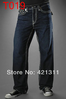 2014 NEW Cheapest price and top quality true glamour Super casual pants men's fashion Straight leg jeans T019-T024   size:30-42