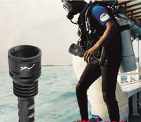 100% original TrustFire DF-003 3XT6 3000 Lumens cree Diving LED Flashlight With Free Shipping