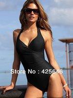 New 2014 Women's Siamese Skirt Sexy Backless Swimwear Swimsuit Beachwear Bikini Set Freeshipping#BK016