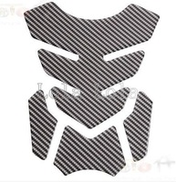 Carbon 3D Motorcycle oil tank Sticker decal Pads Protector For GSXR 600 750 1000 GS GSF 650 1250 k1 k2 k3 k6 k7 k8 LOGO