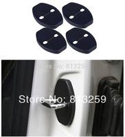 4PCS Door Striker Cover for Toyota new VIOS Corolla Yaris Highlander RAV4 Prius Camry