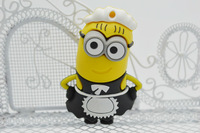 Wholesale hot minions USB Flash Drive Thumb Stick 4gb 8gb 16gb 32gb USB 2.0 Pen Drive free shipping