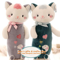 Free shipping cute plush kitty toy doll 75cm large size, 3 color options, seat & sofa pillow/cusion birthday gift for girl, 1pc