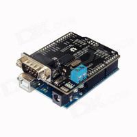 CAN-BUS Shield Automotive Industrial Control / MCP2515 + UNO R3 Development Board - Black + Blue