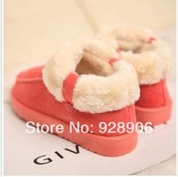 Autumn and winter 2014 casual platform snow boots cotton-padded shoes flat heel warm shoes short boots
