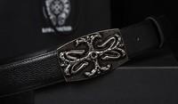 silver buckle belt for men cowhide brand belt designer strap rivet vintage belt casual fashion belt