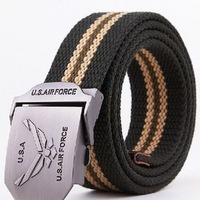 Free ShippingCanvas strap male belt all-match outdoor casual male strap canvas belt lengthen 1765