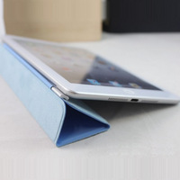 PU Leather Magnetic Protection Skin Smart Stand Cover For Apple iPad 2 3 4 free shipping