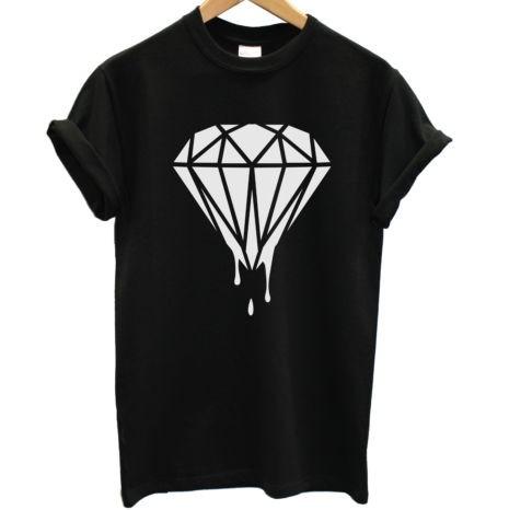 Diamond Supply co Dripping Diamond Dripping Diamond t Shirt