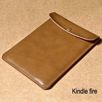 Free shipping Free shipping Tablet leather case kindle fire hd protective case 6 7 8.9 genuine leather sleeve