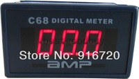 0-50A red led digital AC current ammeter panel meter Ampere gauge amp display
