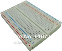 400 holes high quality 8.5X5.5cm Breadboard Mini bread board Experimental board