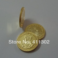 Non-Magent  100pcs/lot  1726 Catherine I 2roubles russian gold replica coin