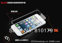 20pcs/lot Newtop  9H 2.5D Tempered Glass Screen Protector for Iphone4 4s--Round Edge