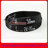 12pcs/lot  New Lens Bracelet Silicone Bracelets  50 24-70 two kinds boy girl wristband bangles gift
