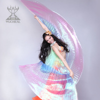 Belly Dance Props Golden-winged Dance Performances Opening Dance Gradient Big Wings TP1011
