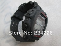 New Fashion BLACK RED colour GX56 Watch jelly Shocking Sports Watches GX-56 Digital Men's Wristwatches