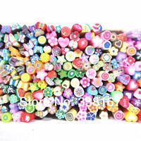 50Pcs 3D  Cute Nail Fimo Cane Rods DIY Nail Art Decoration Nail Art Fimo Sticks