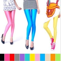 Fashion spring and autumn fashion neon color all-match universal neon legging pants leggings