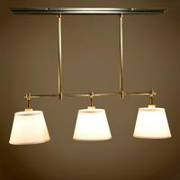 High quality american classic modern 3 pure copper pendant light o