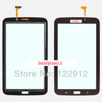 For Brown Samsung Galaxy Tab 3 7.0 P3200 P3210 T210 T217A Digitizer Touch Screen  Free Shipping