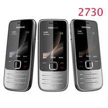 Refurbished Nokia 2730 classic Unlocked Mobile Phone 2730c Cheap 3G Phone Quad Band 2MP Camera 1