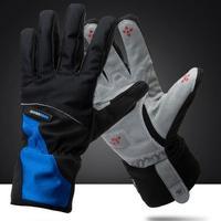outdoor waterproof cycling gloves guante men full finger mountainbike glove motocycle long gloves mtb bike motocross guantes