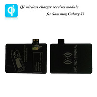Mobile phone chargers Qi wireless charging receiver module Designed For Smart phone Samsung Galaxy S3 wireless charger receiver