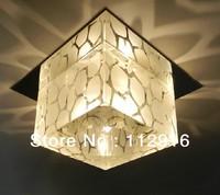 5W modern living room crystal pendant light led lamps lighting for home decoration AC85-265V Diameter 10CM