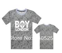 2014 Boy girl Tee shorts, Fashion eagle boy london short-sleeve basic t-shirt lovers t shirt plus size classes