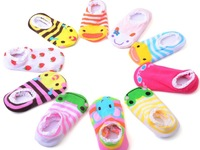10 Pairs Baby Socks Soft Cotton Infant Toddler Baby Boy And Girl Socks, Size 3-24 Months