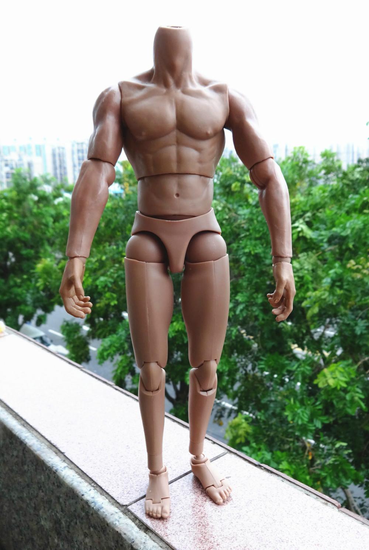 Hit figure Narrow Shoulder 1/6 Muscular Body TTL Hot TTM19 Custom Toys+ 8 HANDS(China (Mainland))