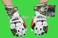 большая скидка американская икона невидимой мотоциклов перчатки удар коза кожаные перчатки супер вентиляции функция козлиной перчатки