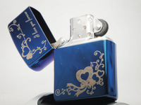 Hot-selling cool male sculpture quality metal kerosene lighter