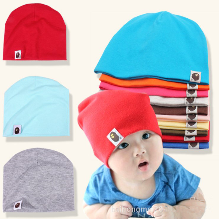 10 Colors New Spring 2014 Baby Hats Caps Elastic Knitted Unisex Kids Accessories Children Beanie Products 1 Piece Free shipping(China (Mainland))