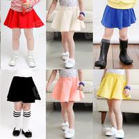 2014 summer candy all-match girls clothing child short skirt bust skirt qz-0371