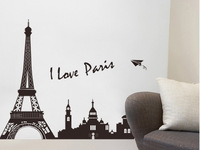 New 2014 Towel Creative Wall Sticker Fashion Home Decor Pairs Towel Stickers Home Decoration Free Shipping