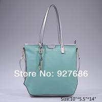 5 Colors New 2014 Women Faux Leather Handbags Designers Brand Spring Women Shoulder Bags  BG506219(FBA)