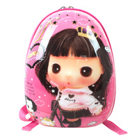 Child school bag everta cartoon child school bag primary school students eggshell backpack 13  Free shipping