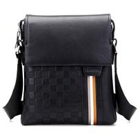 New arrive leather bags men casual bag leather messenger shoulder bag fashion leather bags men