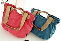 bolsos canvas gym shoulder bag 2015 sport women multi-purpose ladies bucket handbags fashion Korean kaukko cloth bag gig bag