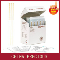 Free Shipping Disposable sterile acupuncture needle Zhenjiu needle for single use full gold plated acupuncture needles 100