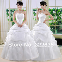 2012 bride wedding dress princess wedding dress wedding dress tube top wedding dress