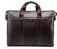 2014 New Business men messenger bags Fashion style Genuine Leather men travel handbags BLDS famous brand men`s bag Alishop