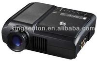 low price mini projector ,universal remote for projector with DVD player  support VCD,CD,MP3,MP4,game